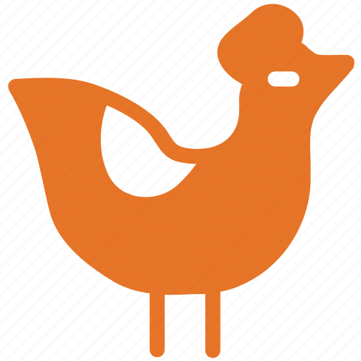 chicken, cock, food, poultry icon