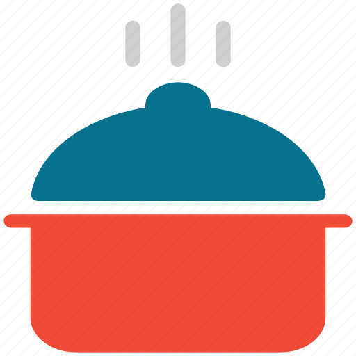 cooking pot, hot food, hotpot, saucepan icon