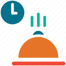 hot food, lunch time, meal time, ready food icon