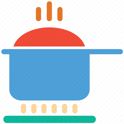 cooking pot, food, hot pot, saucepan icon
