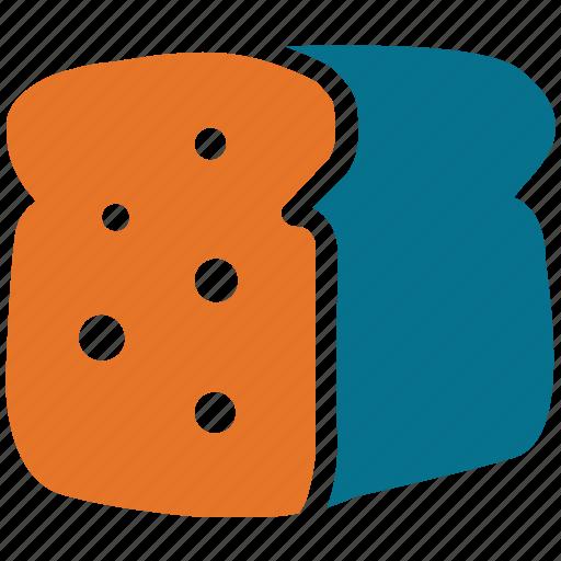 bakery, food, spongecake, spongecake bar icon