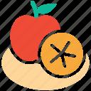 apple, citrus, fruit, fruits