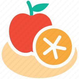 apple, citrus, fruit, fruits icon