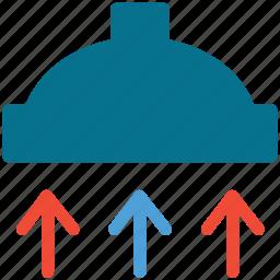 cooker hood, hood, kitchen, kitchen hood icon