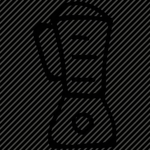 blender, milk shake jug, milk shake machine, mixer icon