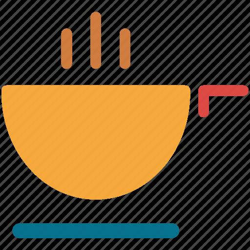 cooking, food, hot food, saucepan icon