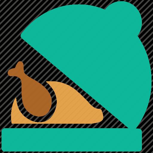 chicken, chicken roast, roasted, turkey icon