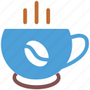 coffee, cup of coffee, hot, hot coffee icon