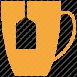 electric kettle, kettle, teabag, teakettle icon