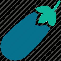 eggplant, food, melongene, vegetable icon