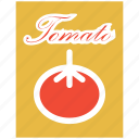 food, sauce, tomato, vegetable icon