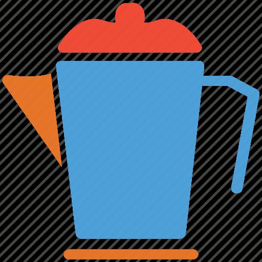 big jar, jug, milk, water icon