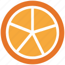 citrus, fruit, lemon half, lemon slice icon
