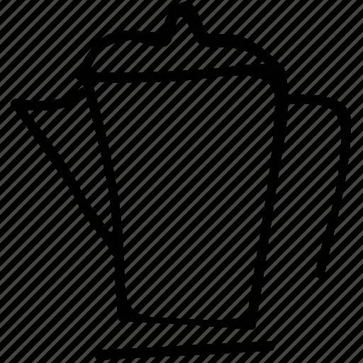 big jar, jar of milk, jar of water, jug icon