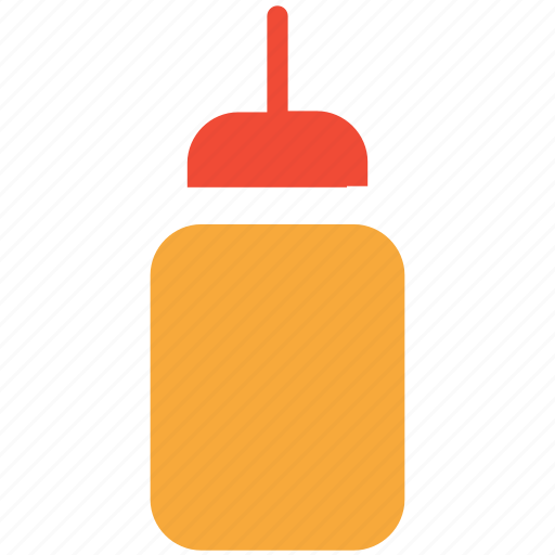 fastfood, ketchup, ketchup bottle, tomato sauce icon