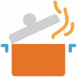 cooking food, cooking pot, food, hot pot icon