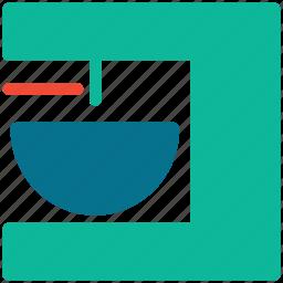 coffee machine, coffee maker, kitchen accessory, kitchen equipment icon