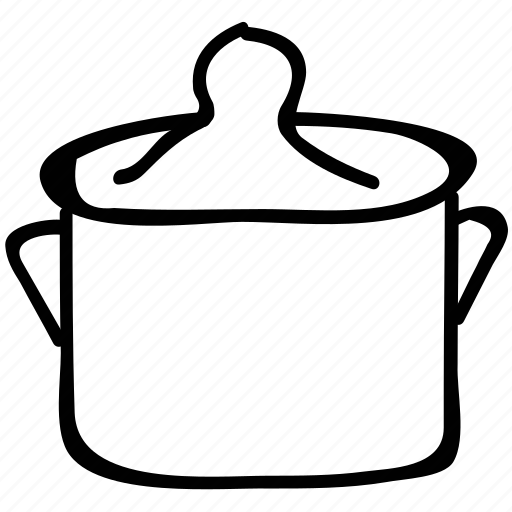 cooking pot, kitchen tool, kitchen utensil, pan icon