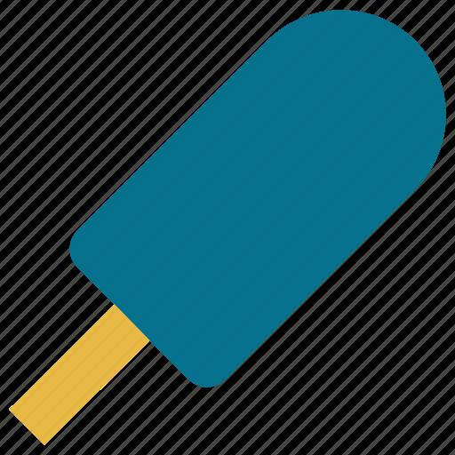 dessert, food, icecream, icecream on stick icon