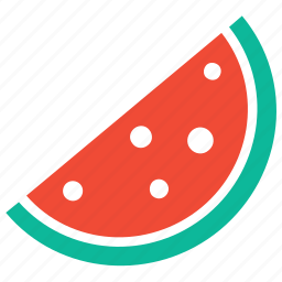 food, fruit, healthy food, watermelon icon