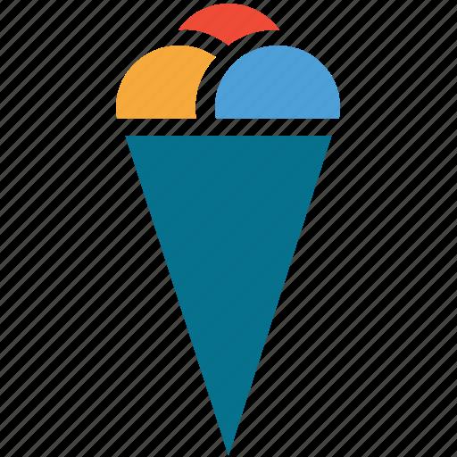 dessert, icecream balls, icecream scoops, sweet icon