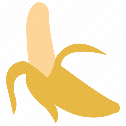banana, food, fruit, healthy food icon