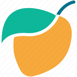 apricot, food, fruit, healthy food icon