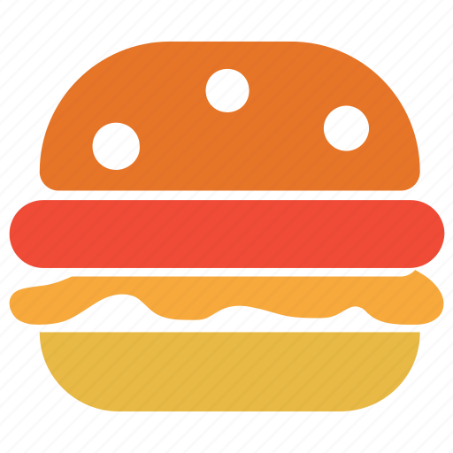 fastfood, food, hamburger, junkfood icon