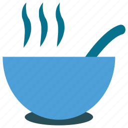 food, hot food, hot soup, soup icon
