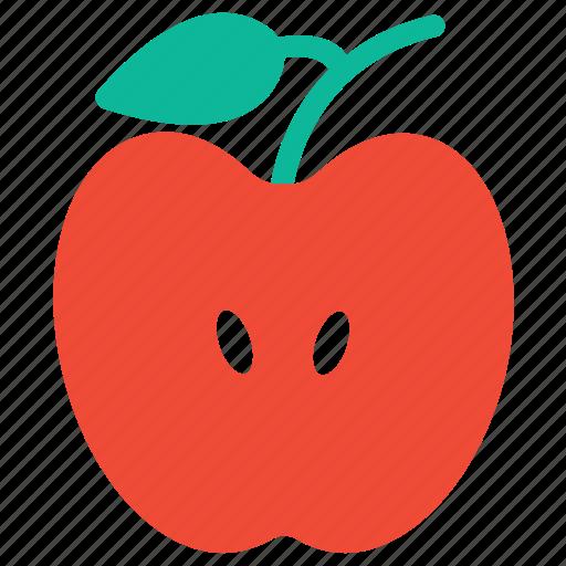 apple, fresh, fresh fruit, fruit icon