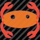 crab, food, restaurant, seafood icon