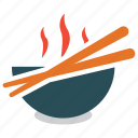 chinese food, chopsticks, food, hot food icon