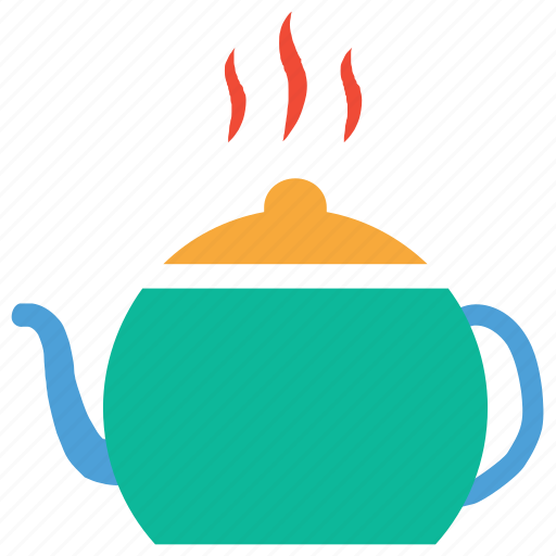 hot tea, kettle, tea, teapot icon