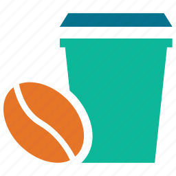 coffee, coffee cup, hot coffee, paper cup icon
