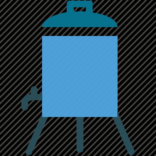 kitchen equipment, kitchen utensils, water cooler, water dispenser icon