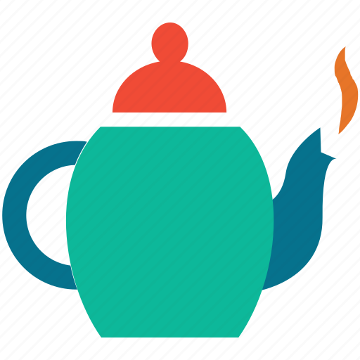 hot tea, tea, teakettle, teapot icon