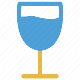 alcohol, drink, glass, wine glass icon