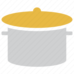 cooking pot, food, hotpot, saucepan icon