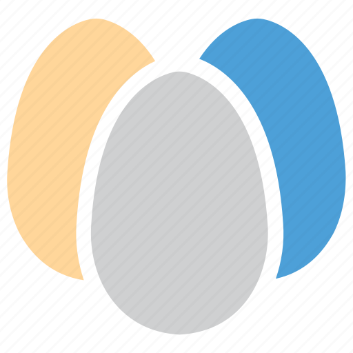 eggs, food, healthy food, three eggs icon