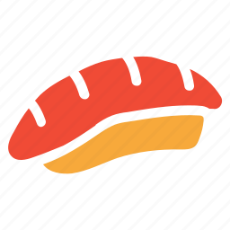 baguette, bread baguette, food, loaf of bread icon