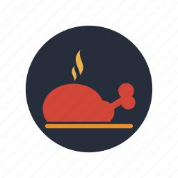 cook, cooking, dinner, food, meal, meat, restaurant icon