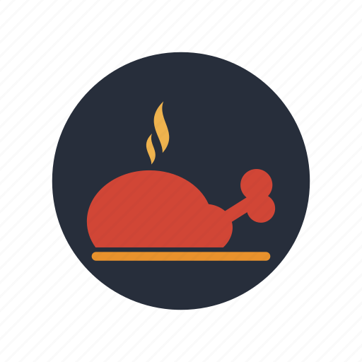 Food, meat, cook, cooking, dinner, meal, restaurant icon - Download on Iconfinder