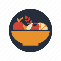 food, fruit, fruit salad, healthy, salad, vegetable icon
