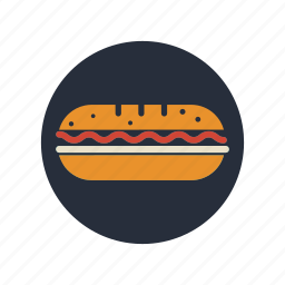 breakfast, brunch, eating, food, meal, restaurant, sandwich icon