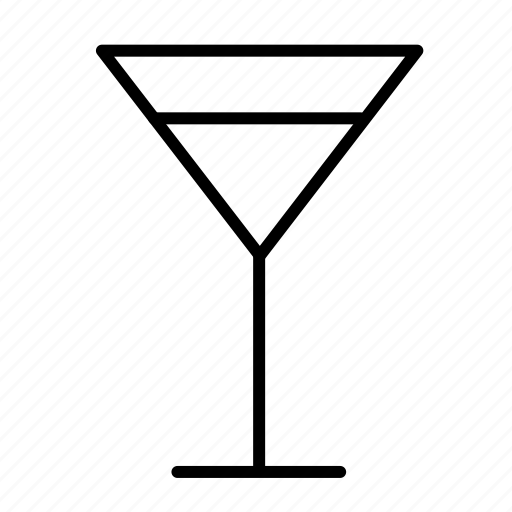 alcohol, coctail, drink, glass, martini icon