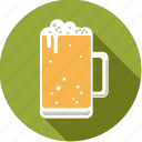 alcohol, beer, beverage, drink, foodix, glass, lager icon