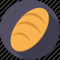 bread, food, foodix, loaf, pastry icon