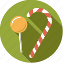 cane, food, sweet, candy, foodix, lollipop
