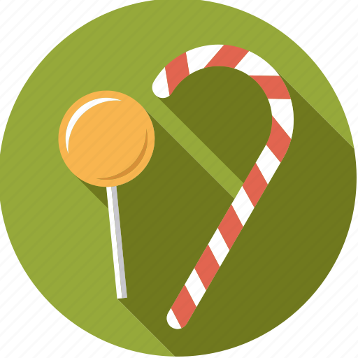 candy, cane, food, foodix, lollipop, sweet icon