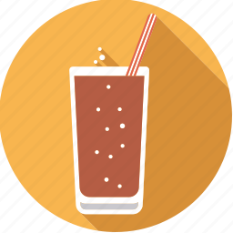 beverage, cola, drink, foodix, lemonade, soda, straw icon